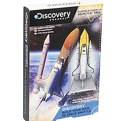 Discovery Channel - Build your own 3D space shuttle