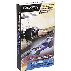 Discovery Channel - Build your own rubber band dragster