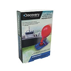 Discovery Channel - Build your own balloon powered hovercrafts