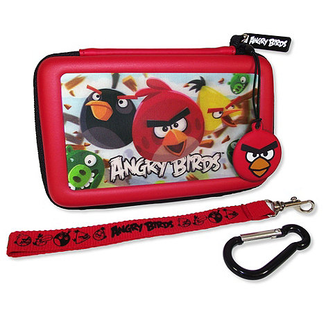 Angry Birds - 3-D Gamer Case Case  & Accessories for DSi & 3DS