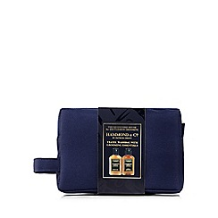 Hammond & Co. by Patrick Grant - Shaving gel and face and body lotion in a travel bag