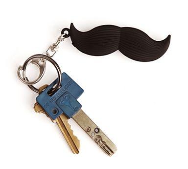 Talking Moustache Keychain - Debenhams