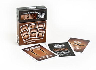 Moustache Snap Game - Debenhams