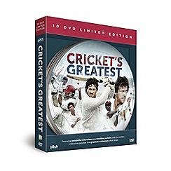Debenhams - Cricket's Greatest 10 DVD Gift Set