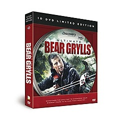 Debenhams - Ultimate Bear Grylls 10 DVD Gift Set