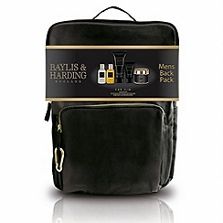 Baylis & Harding - Black Pepper and Ginseng Grooming Essentials Rucksack