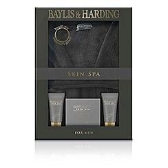 Baylis & Harding - Skin Spa for Men - Amber and Sandalwood Gown Set