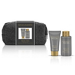 Baylis & Harding - Skin Spa for Men Amber and Sandalwood Wash Bag Duo Set