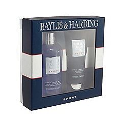 Baylis & Harding - Sport - Citrus Lime and Mint Grooming Duo gift pack