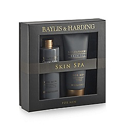 Baylis & Harding - Skin Spa for Men Amber and Sandalwood Grooming Duo gift pack