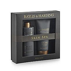 Baylis & Harding - Skin Spa for Men Amber and Sandalwood Grooming Duo gift pack
