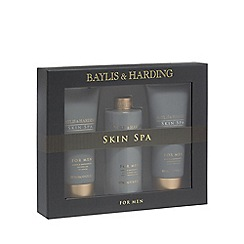 Baylis & Harding - Skin Spa for Men Amber and Sandalwood Grooming Trio