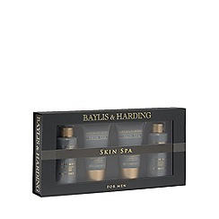 Baylis & Harding - Skin Spa for Men Amber and Sandalwood Travel Essentials Set