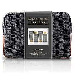 Baylis & Harding - Skin Spa for Men Amber and Sandalwood Wash Bag Gift Set