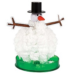 Science Museum - Crystal snowman