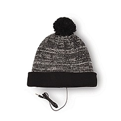 Amplified - E hat grey mix pom pom
