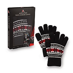 Amplified - Touch screen gloves fairisle