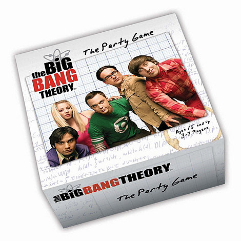 Debenhams - Big Bang Theory Party Game