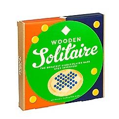 Debenhams - Wooden solitaire game