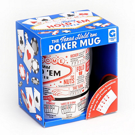 Ginger Fox - Poker mug