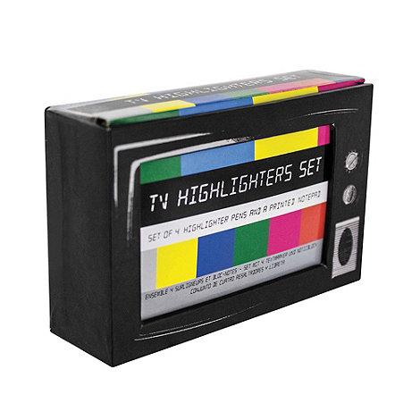 Debenhams - TV highlighter desk set