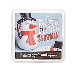 Blue Sky - Melting snowman
