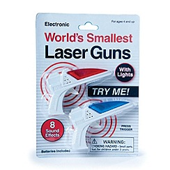 Debenhams - World's Smallest Laser Guns