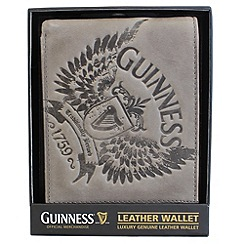 Guinness - Wings Grey Leather Wallet