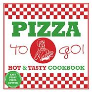 Pizza To Go Boxset with Recipe Book and Pizza Cutter