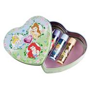 Disney Princess Heart Tin 3 Pcs