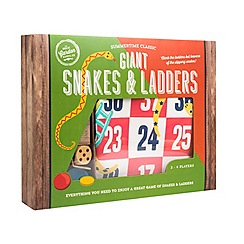 Debenhams - Giant snakes & ladders
