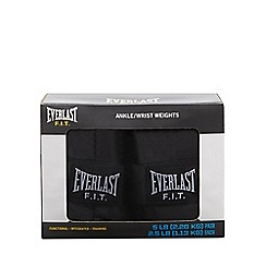 Everlast - Mens' black ankle and wrist weights