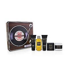 Baylis & Harding - Black Pepper & Ginseng Men's Record Player Toiletries Gift Tin