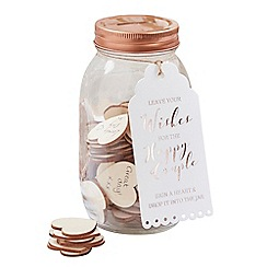 Ginger Ray - Guest Book - Wishing Jar