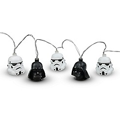 Star Wars - Darth Vader and Storm Trooper string lights