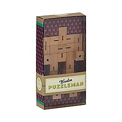 Games & Puzzles - Wooden puzzle man