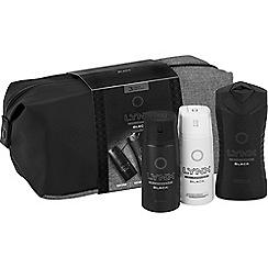 Lynx - Black Washbag Gift Set - Washbag
