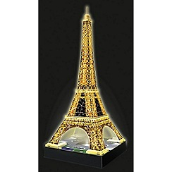Ravensburger - Eiffel Tower - Night Edition, 216pc 3D Jigsaw Puzzle
