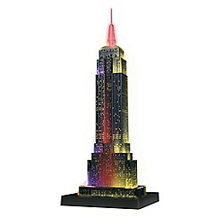 Ravensburger - Empire State Building - Night Edition, 216pc 3D Jigsaw Puzzle