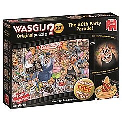 Jumbo - Wasgij Original 27 20th Party Parade 2 x 1000 piece Jigsaw Puzzle
