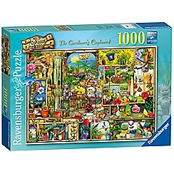 Ravensburger - The Curious Cupboard No.3 - The Gardener's Cupboard, 1000pc Jigsaw Puzzle