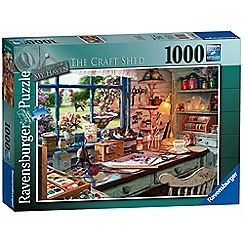 Ravensburger - My Haven No 1. The Craft Shed 1000pc Jigsaw Puzzle