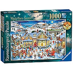 Ravensburger - Which One's Santa? 1000pc 2017 Limited Edition Jigsaw Puzzle
