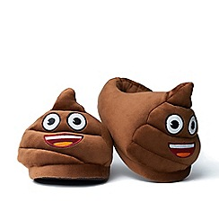 Emoji - Foot Cushions - Poo Slippers