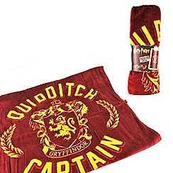 Harry Potter - Quidditch Captain Cape Towel