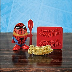 Spider-man - Egg Cup and Toast Cutter