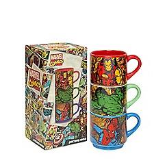Marvel - Set of three 'Marvel' stacking mugs