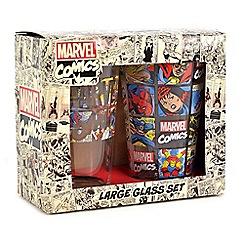 Marvel - Set Of 2 450Ml Large Glasses