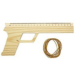 Paladone - Rubber Band Ruler Gun
