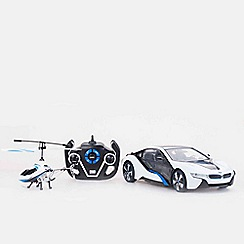 Mondo - 1:14 Bmw Cars & Helicopter